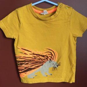 Mini Boden kids porcupine t-shirt